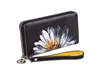 Yellow Daisy Zip Around Wallet