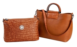 Saddle Small Tote
