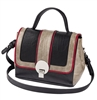 Black & Sand Zip Off Satchel