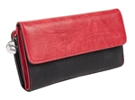 Black/Red Wallet