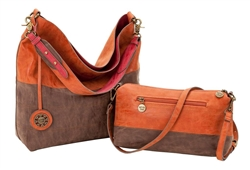 Cinnamon, Chocolate & Cranberry Reversible Hobo