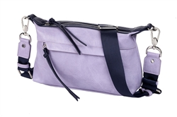 Shoulder Bag-Violet/ Navy