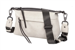Shoulder Bag-Cream/ Pewter