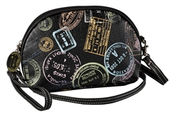 Bon Voyage Passport Print Cross Body