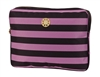 "Brown and Pink Stripe 13"" Laptop Sleeve"