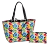 Floral Reversible Medium Tote