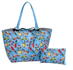 Happy Hour Reversible Medium Tote