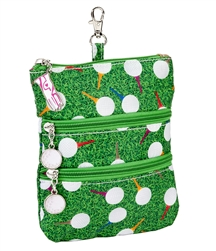 Teed Off Clip on Accessory Pouch