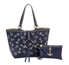 Reversible Ring Tote-Nautical