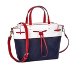 Nautical Bucket Bag