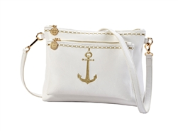 Nautical Front Pocket Crossbody