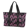 Fuchsia Golf East West Tote