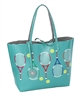 Serve It Up Reversible Tote with Inner Pouch