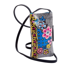Foulard Print Cell Phone Holder
