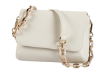 Mini Shoulder Bag-Creme