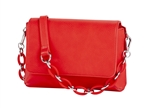 Mini Shoulder Bag-Red
