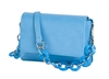 Mini Shoulder Bag-Tropical Blue