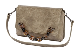 Mini Shoulder Bag-Stone