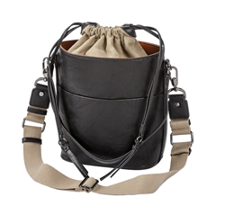 Bucket Bag-Black