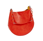 Horseshoe Bag-Orange/Yellow