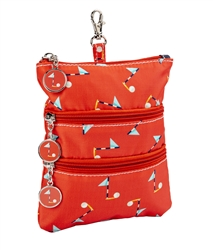 Pin High Clip on Accessory Pouch