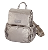 Pewter Nylon Backpack