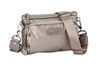 Pewter Nylon Crossbody