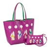 Reversible Tote with Inner Pouch