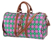 Argyle Mini Duffel