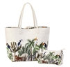 Reversible Large Tote-Jungle Print