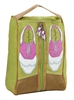Green Golf Shoe Bag