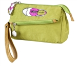 Green Golf Fold Over Wristlet
