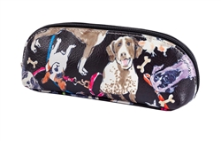 Dog Print Mini Cosmetic Case