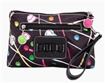 Driving Me Crazy Cosmetic Bag with Tee Holder