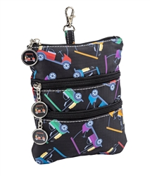 Cart Path Only Clip on Accessory Pouch
