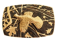 Ansell Bray - Bronze Grouse Belt Buckle