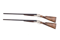 Garbi Model 103A Special 12 Gauge Pair Side-by-Side Shotguns