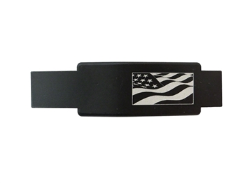 USA Flag waving trigger guard