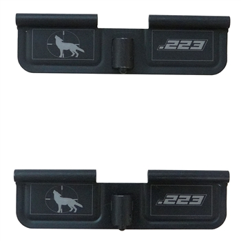 .223 Coyote Howling  Ejection port  cover