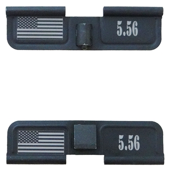 5.56 and USA Flag  Ejection port  cover