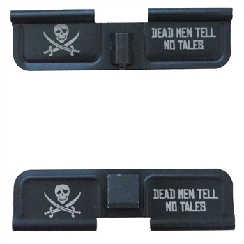 Jolly Roger Pirate with eye patch  Ejection port  cover