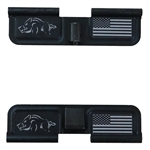 Feral Hog and USA Flag Ejection Port Cover