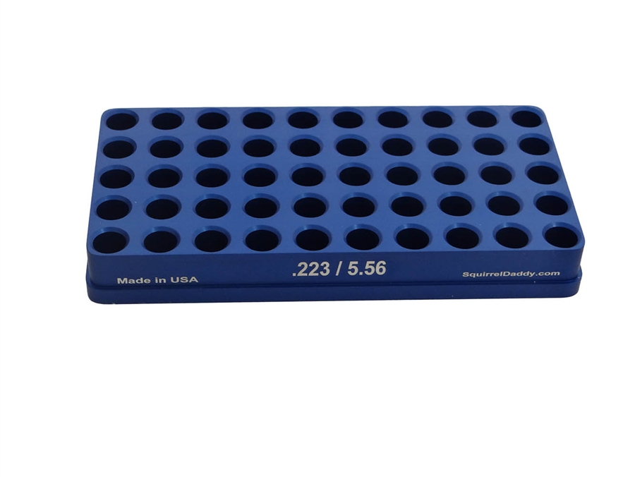 223 / 5 56 Reloading Tray + Free Ejection Port Cover with USA Flag