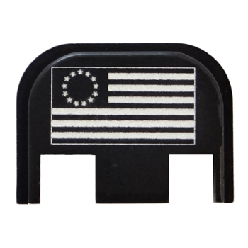 Gen 5 Glock Back Plate with Besty Ross USA Flag