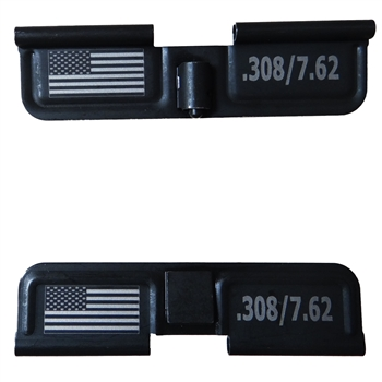 USA Flag and .308 / 7.62  Ejection port dust cover