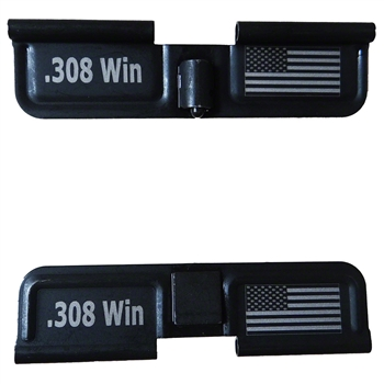 USA Flag and .308 Win  Ejection port dust cover