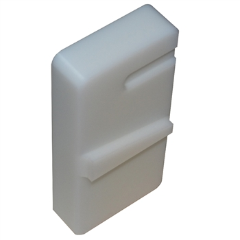 Lower vise block R3.0 white