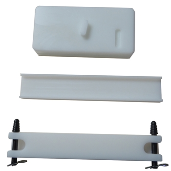 Squirrel Daddy Upper and Lower + Top Rail pad Vise block polymer combo