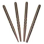 4 pc Brass punch set