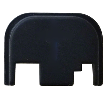 Blank Glock slide cover back plate